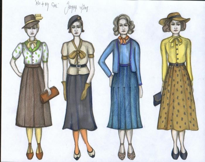 Costume illustrations
